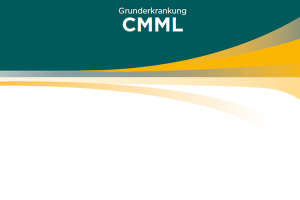 Webshop Patientenfall CMML