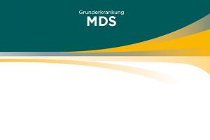 Webshop Patientenfall MDS